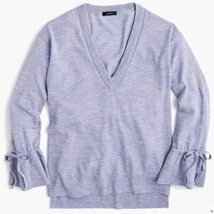 New J. Crew Merino Wool 100% Sweater Knit Lavender